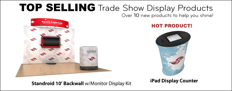 Tradeshow displays products